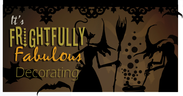 Halloween Decorating with wall decals stickers